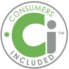 consumers included logo